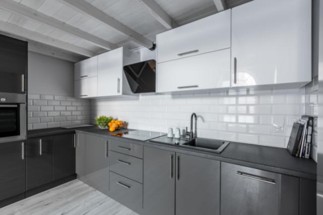 Gresham Kitchen Tile Backsplash with subway tiles